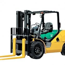 Xe nâng động cơ xăng 4 tấn